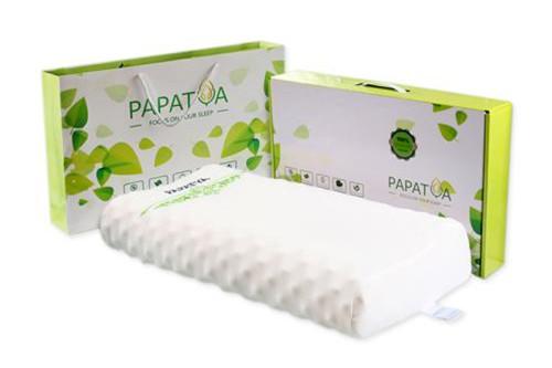 泰国papatya乳胶枕头 高低颗粒按摩枕