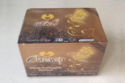 泰国金马胜利咖啡 champ双马头咖啡